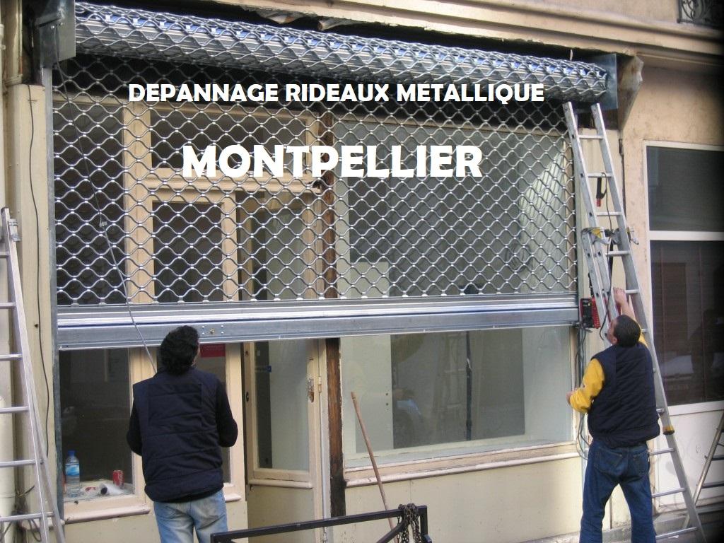 serrurier Montpellier dépannage rideaux métallique